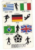CL340- CAMPIONATO DEL MONDO WORLD CHAMPIONSHIP IX CAMPEONATO MUNDIAL DE FUTBOL MEXICO 1970 PUEBLA 70 CAMPEONES MUNDIALES - Calcio