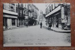 SAINT GAUDENS (31) - RUE THIERS ET EGLISE - Saint Gaudens
