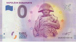 Billet Touristique 0 Euro Souvenir France 75 Napoléon Bonaparte 2020-4 N°UEAV050016 - Private Proofs / Unofficial