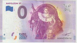 Billet Touristique 0 Euro Souvenir France 75 Napoléon 1er 2020-1 N°UEAV030616 - Private Proofs / Unofficial