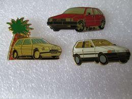 PIN'S   LOT  3  FIAT - Fiat