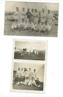 DEUX CARTES PHOTOS - BOIS L'ÉVÊQUE - MILITAIRES - Autres Communes
