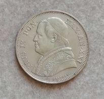 Stato Pontificio Pio IX 2 1/2 Lire 1867 R Anno XXI (Rara) - Vatican