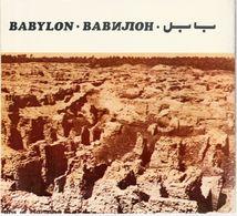 Irak, Babylon,  In Englisch Und Arabisch, ,22 X 19 Cm - Dépliants Touristiques