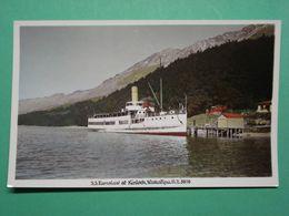 KLRJ66 Kinloch SS Earnslaw Steamer Ship Boat Wakalinu New Zealand - Neuseeland