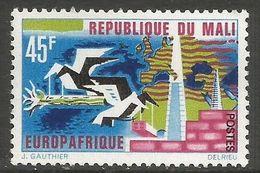 Mali - 1967 Europafrique 45f MH *   Sc 103 - Mali (1959-...)