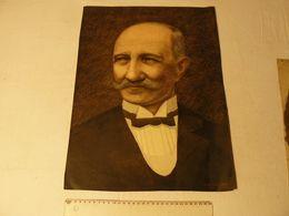 Portrait D'homme, Gouache Et Encre, Sur Papier, Signé: J.E.Caillez Peintre Cambrésien, Oct 1935.  Dim: 36 X 49 Cm. - Gouaches