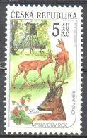 Czech Republic - Hunting - Deer - MNH - Timbres