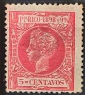 PUERTO RICO 1898 - MLH - Sc# 144 - 5c - Puerto Rico