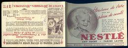 Carnet De  Timbres Antituberculeux -- Nestlé   AVR20-112 - Antitubercolosi
