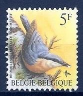 BELGIE * Buzin * Nr 2294   P6a * Postfris Xx * WIT  PAPIER - WITTE GOM - 1985-.. Pájaros (Buzin)