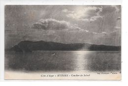 DEP. 83 HYERES - COUCHER DE SOLEIL - Hyeres