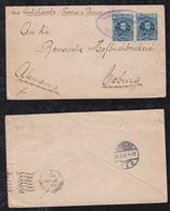 Bolivia 1907 Cover To COBURG Germany Via Buenos Aires - Bolivia