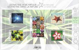 Belg. 2019 - COB N° BL 279 ** - Géométrie Dans La Nature (timbres 4861 à 4865) - Nuovi