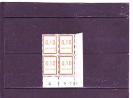 F232 - 0,10 Orange Clair - 9.02.1982 - - 1980-1989