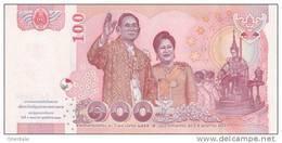 THAILAND P. 123 100 B 2010 UNC (s. 81) - Tailandia