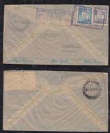 Bolivia 1938 Airmail Cover LA PAZ To HAMBURG Germany - Bolivia