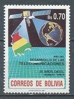 Bolivie YT N°753 Année Du Développement Des Télécommunications Neuf ** - Bolivia