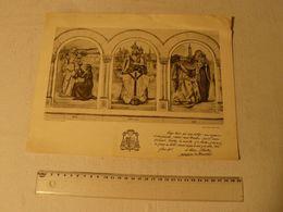 Lithographie Lucien Jonas, Phrase De Jean Chollet Archevêque De Cambrai. 1936. Edit Masson Cambrai. Dim: 32.5 X 25 Cm - Lithographies