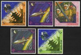 Jordanie Jordan 1965 Spatial Conquest North American X-15 Cosmonautes Satellite - Unclassified