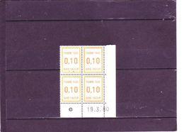 FT30 - 0,10 Orange Clair - 19.03.1980 - - 1980-1989
