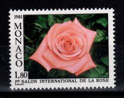 Monaco - YV 1297 N** Rose Catherine Deneuve Cote 4,90 Euros - Monaco