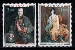 Monaco - YV 1286 & 1287 N** Tableaux Cote 7,80 Euros - Monaco