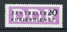 DDR Dienstmarke A MiNr. 7 XII Postfrisch MNH Gepr. Paul (O678 - Servizio