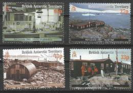 (066) Brit. Antarc. Territ. (BAT)  2001 History / Port Lockroy / Geschichte  ** / Mnh  Michel 315-18 - Territorio Antártico Británico  (BAT)