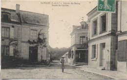 37 SAVIGNY  Entrée Du Bourg  Route De Candes - Sonstige Gemeinden