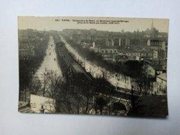 PARIS - Perspective Du Métro, Au Boulevard Auguste-Blanqui... . - Openbaar Vervoer