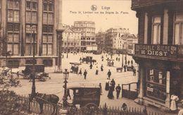 Liège - Place St-Lambert Vue Des Degrés St-Pierre - Pub. Double Bière De Diest / Boulangerie A. Herman Degrès St Pierre - Liège