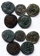 Lot 5 Petits Bronzes (Lot 9) - 7. The Christian Empire (307 AD To 363 AD)