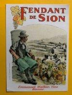 11692 -  Fendant De Sion Emmanuel Walker Bienne - Etiquetas