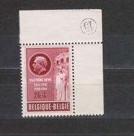 COB 908 ** Neuf Sans Charnière Bord De Feuille - Unused Stamps