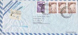 36699. Carta Aerea Certificada Oficial BUENOS AIRES (Argentina) 1971. FABRICA De AVIONES - Argentina