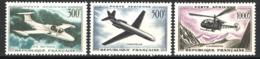 Francia 1957 Posta Aerea Unif.A35/37 **/MNH VF - 1927-1959 Mint/hinged