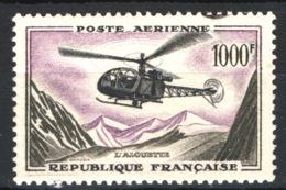 Francia 1957 Posta Aerea Unif.A37 **/MNH VF/F - 1927-1959 Mint/hinged