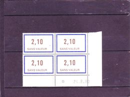 F230 - 2,10 Sans Valeur -   -  24.08.1982 - - 1980-1989