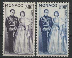MONACO POSTE AERIENNE N° 71 + 72. Cote 51 € Neufs ** (MNH). TB - Airmail