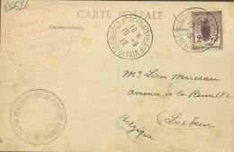 Congres De La Paix. St Germain En Laye  10-9-1919. Avec Orphelin 2+3c - Francia