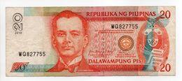 - Billet REPUBLIKA NG PILIPINAS - 20 DALAWAMPUNG PISO - - Philippines