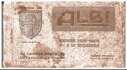 81. ALBI. CARNET DE 25 CARTES POSTALES - Albi