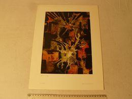 Lithographie. Arbre D'or De Lajos Sebök. Hongrois 1910/1996. Dim : 29.5 X 40 Cm. - Lithographies