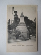 "PARIS  -  PAGODE  ANNAMITE     "" EXPOSITION  UNIVERSELLE  1900  ""   ...   TTB - Exhibitions"