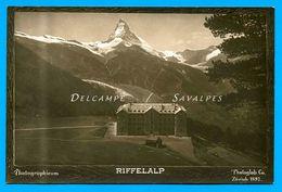Suisse Valais * Zermatt Riffelalp * Carte Photo 1897 - VS Valais