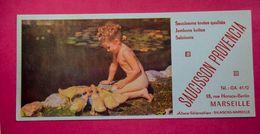 Buvard SAUCISSON PROVENCIA, Enfant, Canetons - Alimentaire