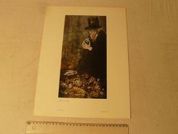Lithographie. Harpagon De Lajos Sebök. Hongrois 1910/1996. Dim : 29.5 X 40 Cm. - Lithographies