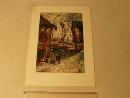 Lithographie. Kaiserswerth De Lajos Sebök. Hongrois 1910/1996. Dim : 29.5 X 40 Cm. - Lithographies