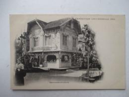 """PARIS  -   COUVEUSES  D ' ENFANTS        """" EXPOSITION  UNIVERSELLE  1900  """"   ...   TTB - Expositions"""